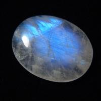 100% Натуральный природный радужный лунный камень (rainbow moonstone)
