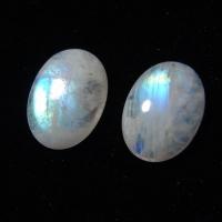 Кабошон из лунного камня, подобранная пара (moonstone  cabochon pair)