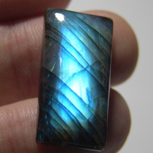 Labradorite cabochon  29*15*7mm,   31ct