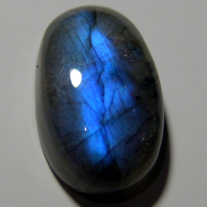 Labradorite cabochon 27*16*9mm,   34ct