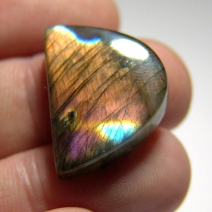 Cabochon spectrolite 25*20*6 mm,  33,4ct