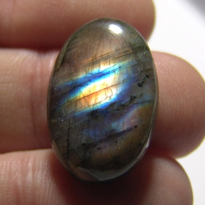 Cabochon spectrolite   26*17*7 mm,   26,6ct