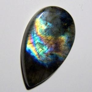 Кабошон из спектролита 39*23*6 mm,  вес 47,4 ct