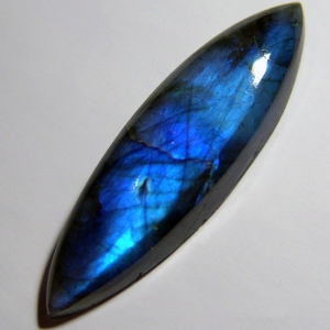 Labradorite cabochon   48*14*7 mm,   39ct
