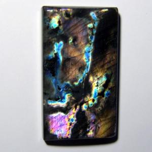 Спектролит кабошон  44*24*7 mm,  вес 94,0 ct