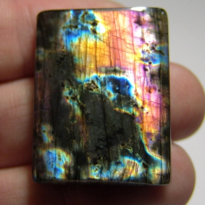 Спектролит кабошон (Spectrolite cabochon)