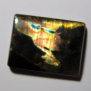 Cabochon spectrolite  29*22*5 mm,  45,2 ct