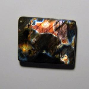 Кабошон из спектролита  28*22*5 mm,  вес 35,9 ct