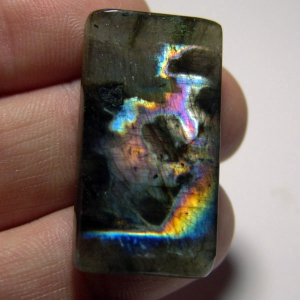 Cabochon spectrolite  32*20*5 mm,  вес 53,3 ct