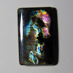Cabochon spectrolite  36*23*6 mm,  56,4 ct