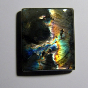 Cabochon spectrolite  32*25*6 mm,   75,3 ct
