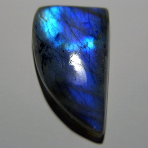 Labradorite cabochon     43*22*7 mm, 58,5 ct