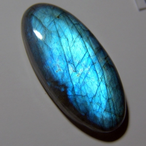 Labradorite cabochon   39*18*8 mm,   48,2 ct