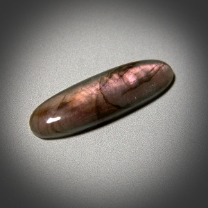 Кабошон из лабрадора 49*15*6mm,   46ct