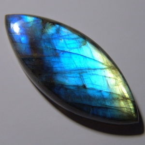 Labradorite cabochon   45*18*7 mm,   48 ct