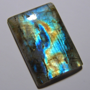 Cabochon spectrolite 35*25*5 mm,   52,9 ct