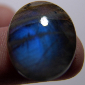 Labradorite cabochon    26*19*6 mm,   23 ct